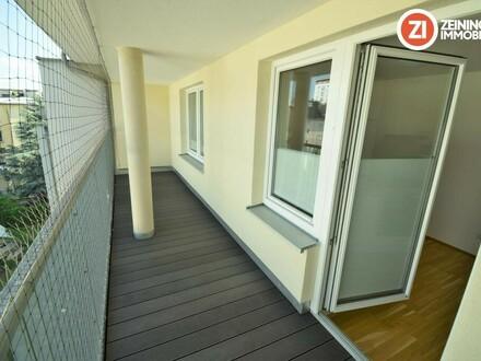 Traumhafte unbefristete 2 ZI-Wohnung in zentraler Lage mit Küche u. Loggia