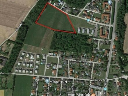 2 ha Bauträger-Grundstück in Enns/Hiesendorf zu kaufen!