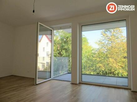 Wunderschöne Neubau 2 ZI-Wohnung mit Küche u. Balkon - Erstbezug