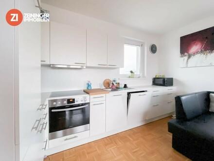 Sehr schöne 3-ZI Wohnung mit perfekter Infrastrukturanbindung - Loggia und Küche - Pasching Langholzfeld