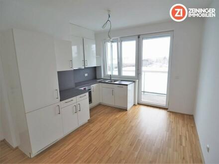 AUFGEPASST Wunderschöne 2 ZI-Neubauwohnung mit Balkon und Küche