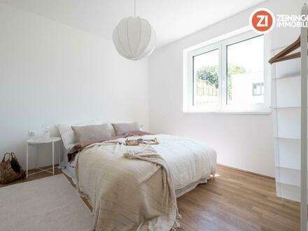 !LETZTE Gartenwohnung! JETZT BESICHTIGEN! Frischluft - 3-Zimmer-Gartenwohnung über den Dächern von Linz
