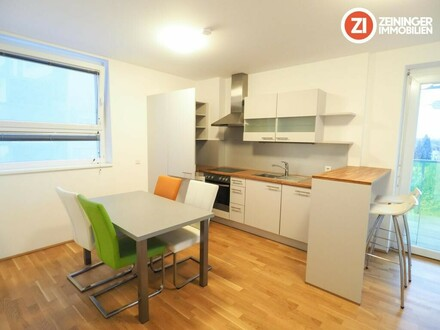 Schöne möblierte 4 ZI-Wohnung in zentraler Lage - inkl. Balkon - WG geeigent - *1 MONAT MIETFREI*