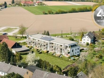"""Neubauprojekt """"Vierzig72"""" - Bezaubernde 2 ZI-Wohnung mit Balkon im Zentrum von Alkoven"""