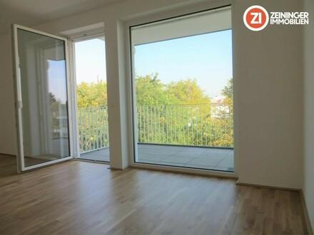 Traumhafte Neubau 2 ZI-Wohnung mit Küche u. Balkon - Erstbezug