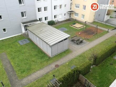 !Provisionsfrei! Geförderte 3-ZI-Whg. mit Loggia und TG-Platz (warm)