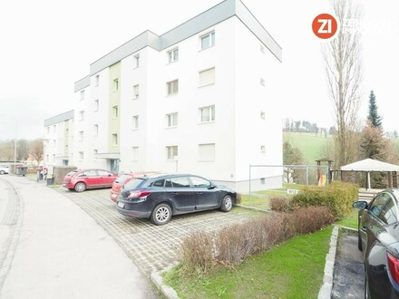 PROVISIONSFREIE 2 ZI - Wohnung mit Loggia und Parkplatz / GRIESKIRCHEN