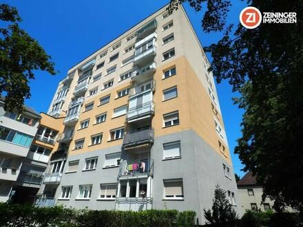 2 Zimmer Wohnung mit Loggia/Balkon zum Innenhof - nähe Infracenter