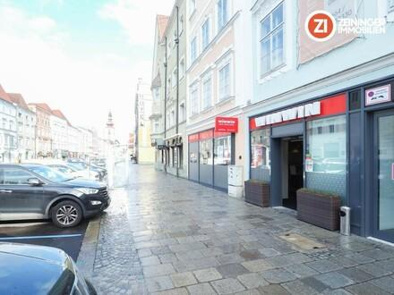 Einzigartiges Geschäftslokal direkt am Welser Hauptplatz - Top Lage