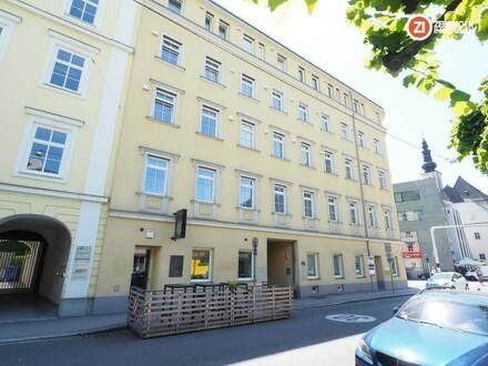 Saniertes Eckzinshaus in der Linzer Innenstadt