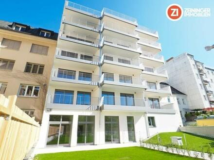Exklusive Neubauwohnung mit großer Loggia in prominenter Lage - Herrenstraße!