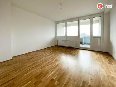 2- Zimmerwohnung in Traun mit Loggia und Tiefgaragenparkplatz - gefördert