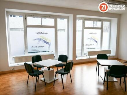 Geschäftslokal bzw. Büro zu vermieten (Verkaufsraum, Büro, Lager), zentrale Lage, Top Preis/Leistung
