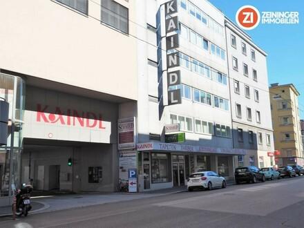 TOP Preis Leistung - 1400m² Geschäftsfläche auf 2 Ebenen - Linzer Innenstadt - Parkplätze