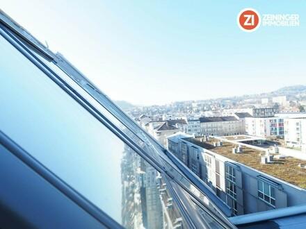EXKLUSIV WOHNEN -Penthouse DG-Wohnung in Linz Urfahr - unbefristetes Mietverhältnis