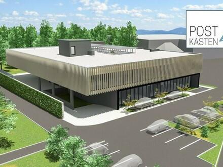 Pasching neben Plus City: Neues Geschäfts- und Bürogebäude