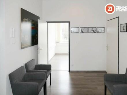 Top Büro-/Ordinationsfläche - mit Garderobe, Dusche + Parkplätze