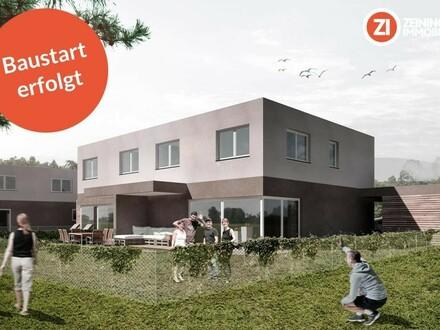 Familiengerechte Doppelhaushälfte in bester Infrastruktur - Gefördert - Baustart erfolgt