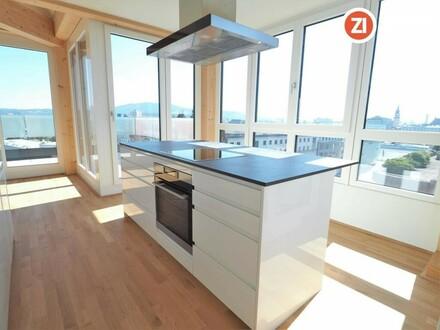 Stillvoll Wohnen über LINZ - Penthouse Wohnung in Linz Urfahr - unbefristetes Mietverhältnis