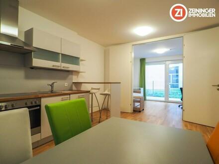 *1 MONAT MIETFREI!* VOLLMÖBLIERTE 2 ZI-Wohnung mit Balkon - Nähe Uni Klinik