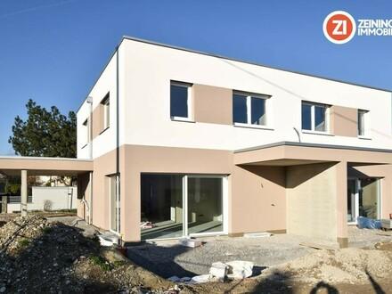 Leistbare Doppelhaushälfte in ruhiger Siedlungslage - Gefördert - Baustart erfolgt