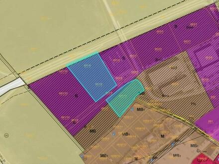 Top Betriebsbaugrund 8800m² mit Baurecht - geteilt/kombinierbar - Leonding nähe Pluscity
