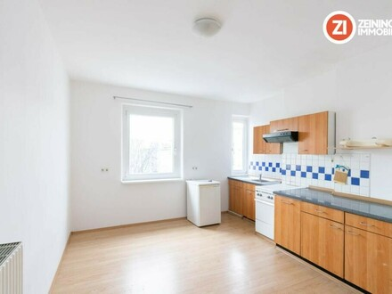 Praktische 44 m²- Wohnung - nähe Designcenter inkl. Küche