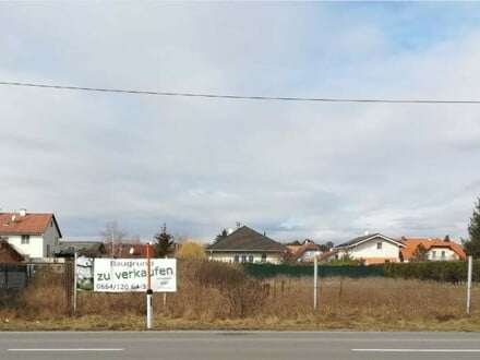 863m2 Baugrund in Gänserndorf Süd / Grenze Strasshof, Doppelhauseignung