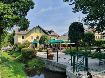 Strasserwirt in Leopoldskron-Restaurant-Gasthaus mit herrlichen Garten in bester Lage Salzburgs