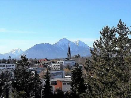 Sehr schöne 2.Zi.-Wohnung mit Balkon und herrlicher Aussicht in zentraler Lage- Nähe Aiglhof
