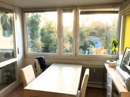 Salzburg Aigen gemütliche 2 Zi.-Wohnung mit Loggia Altstadtnähe (2.Wohnsitz möglich)