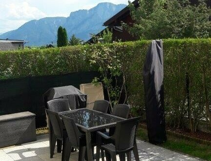 Mondsee, sonnige 3 Zi.- Gartenwohnung mit einer Wfl. von ca. 72m²