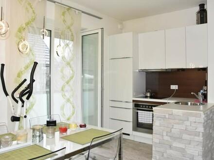 Moderne möblierte 2- Zi.-Wohnung mit Balkon in Parsch/ Fürberg