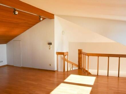 Moderne, sonnige 2 Zimmer Maisonettewhg mit Balkon