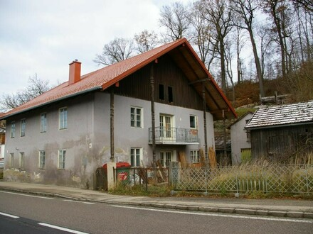 Mehrfamilienhaus mit Zuhaus und Nebengebäuden, 9 Wohneinheiten, hoher Sanierungsbedarf!