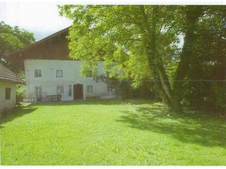 Bauernhaus mit Seegrund am Obertrumersee/Mattsee