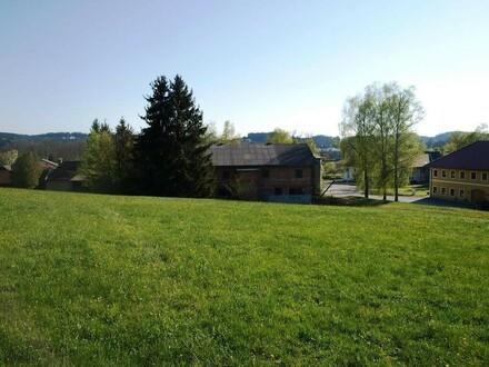 BIO Landwirtschaft - gesamte Fläche arrondiert mit Gebäude
