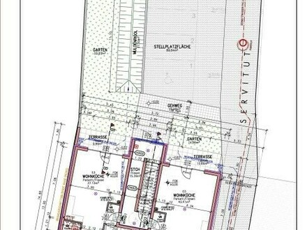 Plan (Mehrfamilienhaus 1) TOP 1 + 2_c