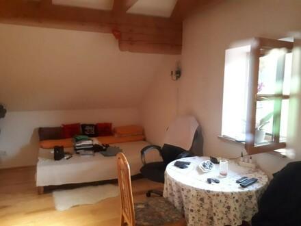 1 Zimmer Dachgeschoss Wohnung