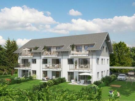 BAUVORHABEN: Top moderne Neubauwohnungen mit Terrassen, Balkon oder Garten