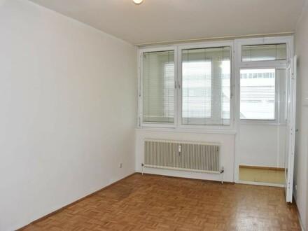 Zentrale 2 Zi-Wohnung mit Loggia am Salzachufer