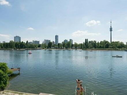 EINMALIGE GELEGENHEIT! Besonders schönes Niedrigenergiehaus in absolut ruhiger Top-Lage Nähe Obere Alte Donau