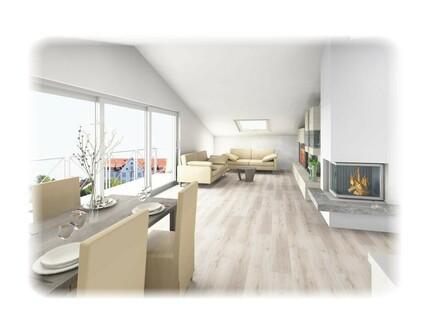 Dachgeschoss-Wohnung für Sonnenanbeter, Erstbezug