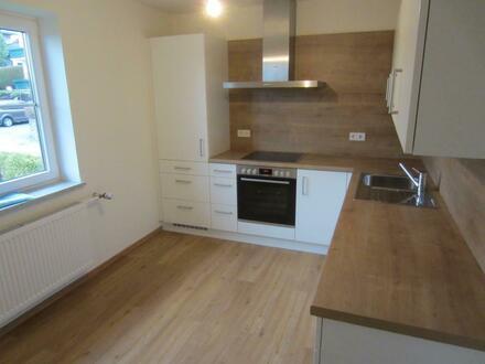 Renovierte 2 Zi.-Garten-Wohnung mit Fernblick