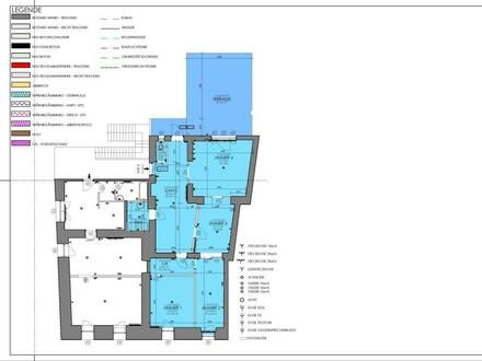 4 Zimmer Wohnung mit Terrasse im Zentrum von Hainburg zu Vermieten