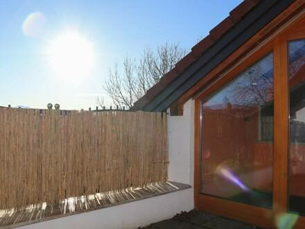 Wohn& Esszimmer mit Terrasse