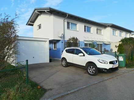 Moderne, energiesparende Doppelhaushälfte in Aurach am Hongar!!