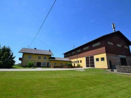 Großes Bauernhaus/Stall/Tenne mit Möglichkeit für Gewerbenutzung!