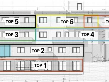 Perg/Zentrum: Praktische 3-Zimmer-Neubauwohnung