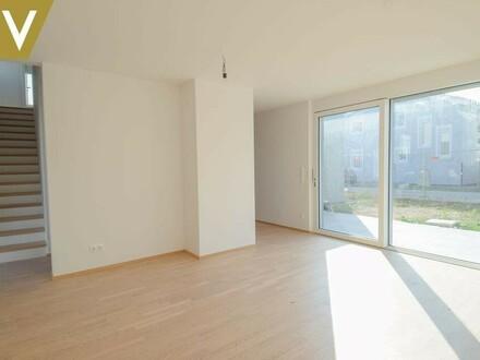 Musterhaus Wohnbereich-Perspektive